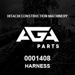 0001408 Hitachi HARNESS | AGA Parts