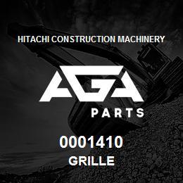 0001410 Hitachi GRILLE   AGA Parts