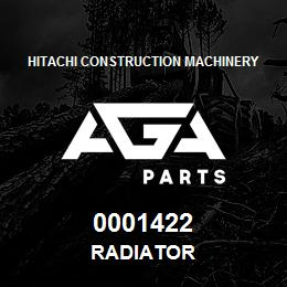 0001422 Hitachi RADIATOR | AGA Parts