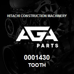 0001430 Hitachi TOOTH | AGA Parts