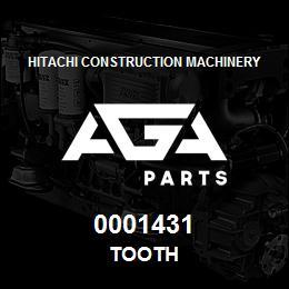 0001431 Hitachi TOOTH | AGA Parts