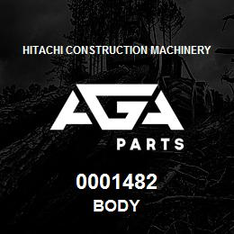 0001482 Hitachi BODY | AGA Parts