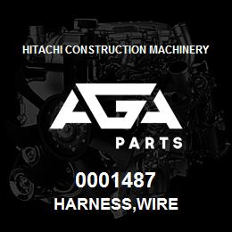 0001487 Hitachi HARNESS,WIRE | AGA Parts