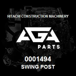 0001494 Hitachi SWING POST | AGA Parts