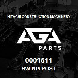 0001511 Hitachi SWING POST | AGA Parts