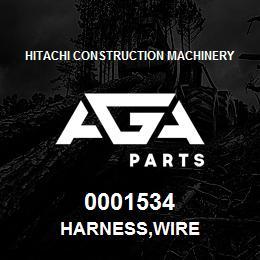 0001534 Hitachi HARNESS,WIRE | AGA Parts