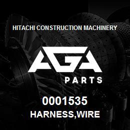 0001535 Hitachi HARNESS,WIRE | AGA Parts