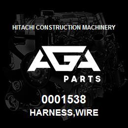 0001538 Hitachi HARNESS,WIRE | AGA Parts