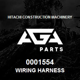 0001554 Hitachi WIRING HARNESS | AGA Parts