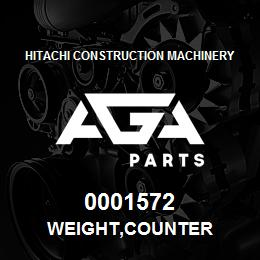 0001572 Hitachi WEIGHT,COUNTER | AGA Parts