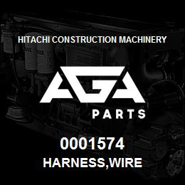 0001574 Hitachi HARNESS,WIRE | AGA Parts