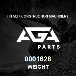 0001628 Hitachi WEIGHT | AGA Parts