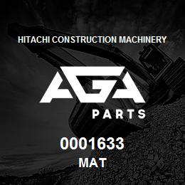 0001633 Hitachi MAT | AGA Parts