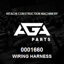 0001660 Hitachi WIRING HARNESS | AGA Parts