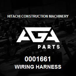 0001661 Hitachi Wiring Harness | AGA Parts