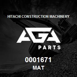 0001671 Hitachi MAT | AGA Parts