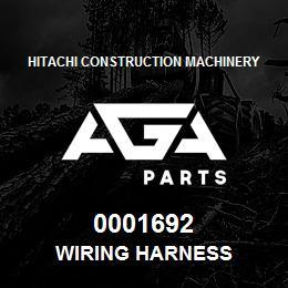 0001692 Hitachi WIRING HARNESS | AGA Parts