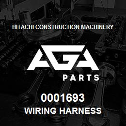 0001693 Hitachi WIRING HARNESS | AGA Parts