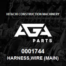 0001744 Hitachi HARNESS,WIRE (MAIN) | AGA Parts