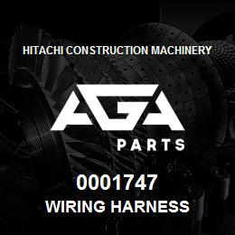 0001747 Hitachi Wiring Harness | AGA Parts