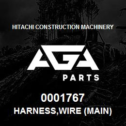 0001767 Hitachi HARNESS,WIRE (MAIN) | AGA Parts
