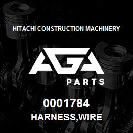 0001784 Hitachi HARNESS,WIRE | AGA Parts