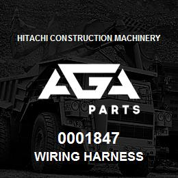 0001847 Hitachi Wiring Harness | AGA Parts