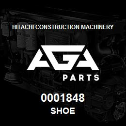 0001848 Hitachi SHOE | AGA Parts
