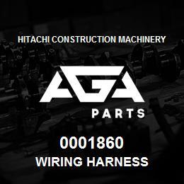 0001860 Hitachi Wiring Harness | AGA Parts