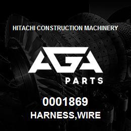 0001869 Hitachi HARNESS,WIRE | AGA Parts