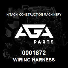 0001872 Hitachi Wiring Harness | AGA Parts