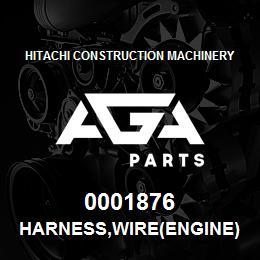 0001876 Hitachi HARNESS,WIRE(ENGINE) | AGA Parts