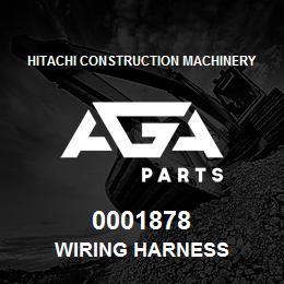 0001878 Hitachi WIRING HARNESS | AGA Parts
