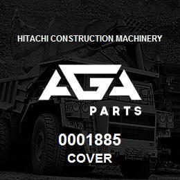0001885 Hitachi COVER | AGA Parts