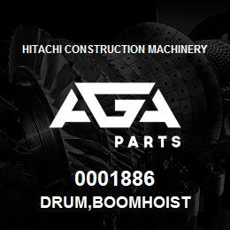 0001886 Hitachi DRUM,BOOMHOIST | AGA Parts