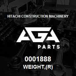0001888 Hitachi WEIGHT,(R) | AGA Parts