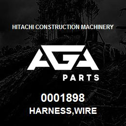 0001898 Hitachi HARNESS,WIRE | AGA Parts