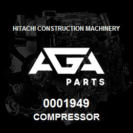 0001949 Hitachi COMPRESSOR | AGA Parts