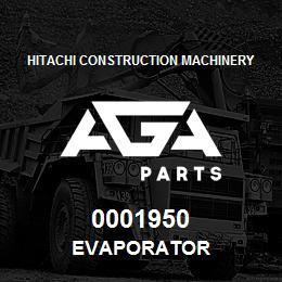 0001950 Hitachi EVAPORATOR | AGA Parts