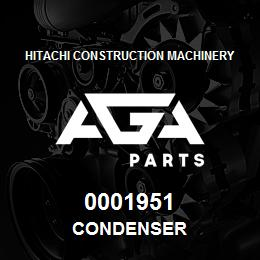 0001951 Hitachi CONDENSER | AGA Parts
