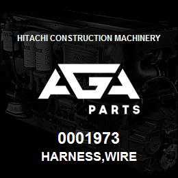 0001973 Hitachi HARNESS,WIRE | AGA Parts