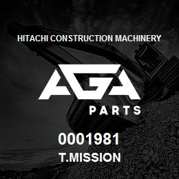 0001981 Hitachi T.MISSION | AGA Parts