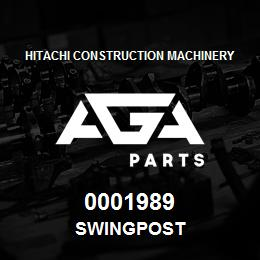 0001989 Hitachi SWINGPOST | AGA Parts