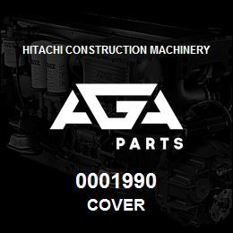 0001990 Hitachi COVER | AGA Parts