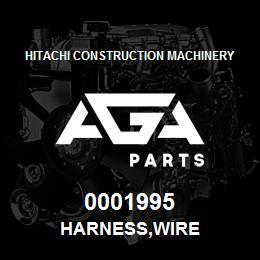 0001995 Hitachi HARNESS,WIRE | AGA Parts