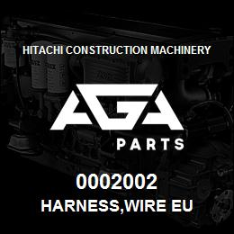 0002002 Hitachi HARNESS,WIRE EU | AGA Parts