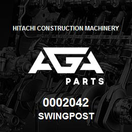 0002042 Hitachi SWINGPOST | AGA Parts
