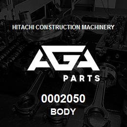 0002050 Hitachi BODY | AGA Parts