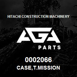 0002066 Hitachi CASE,T.MISSION | AGA Parts
