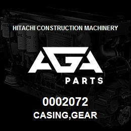 0002072 Hitachi CASING,GEAR | AGA Parts